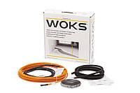 Нагревательный кабель Woks 17, 650 Вт, 41 м