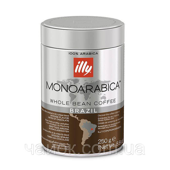 Кофе Illy Monoarabica Brazil зерно 250 гр