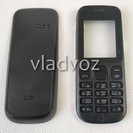 Корпус для Nokia 101 чёрный без клавиатуры недорогой, фото 2