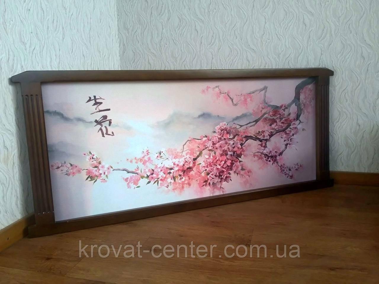 """Картина в деревянной рамке """"Ветка Сакуры - 2"""""""