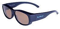 Накладные очки с поляризацией BluWater OVERBOARD Brown, фото 1