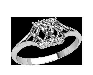 Кольцо  женское серебряное Феерия 21143