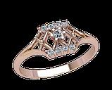 Кольцо  женское серебряное Феерия 21143, фото 2