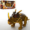 Динозавр 138-3  32-17-12см, ходит,звук, свет,подв .голова и хвост,на бат, в кор,33,5-17,5-12,5см