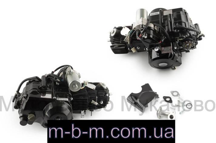 Двигатель ATV 110cc (АКПП, 152FMH-J, 1 передача вперед и 1 назад, + стартер, фото 2