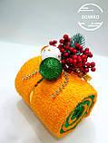 """Подарок из полотенец Рулет""""Зимние ягоды"""", фото 2"""