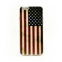 "Ретро чехол для iPhone 6 4.7"" Американский флаг ""Retro American Flag"""