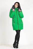 Куртка Дикси зелёная44-52 размер