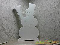 Снеговик из пенопласта высотой 100 см