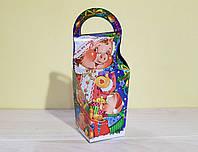 """Упаковка Новый год """"Коробка Хрюша"""" на 500 гр., фото 1"""