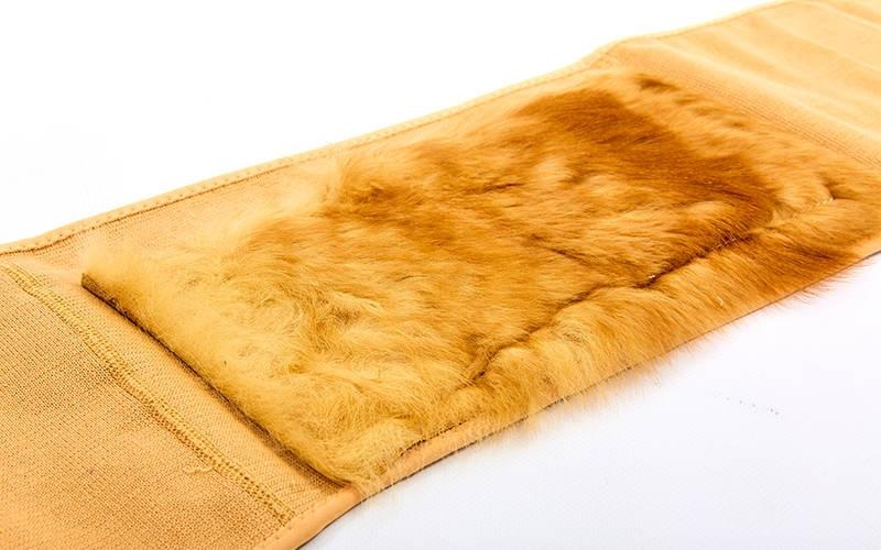Пояс для спины, согревающий пояс из собачьей шерсти ZD-6869