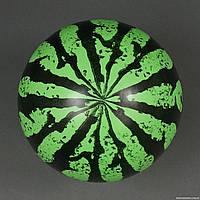 """Мяч детский резиновый 772-544 (600) """"Арбуз"""" 40 грамм, размер 6"""""""