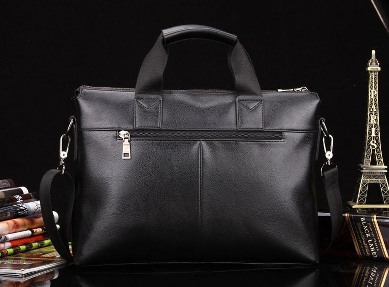 e93e2d359a10 Мужская сумка-портфель Polo под формат А4. Черная КС32-1: продажа ...