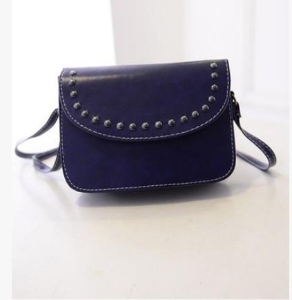 Женская маленькая сумочка синяя опт