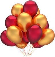 Набор воздушных шаров на Новый Год 06, (25 см - 21 шт)