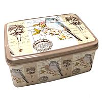 Корзинка контейнер с крышкой с рисунком 3,5л. №2 Elif, 504, фото 1