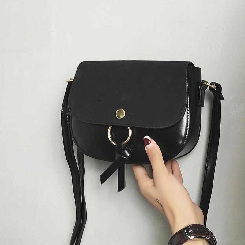 Женская сумочка черная через плече опт