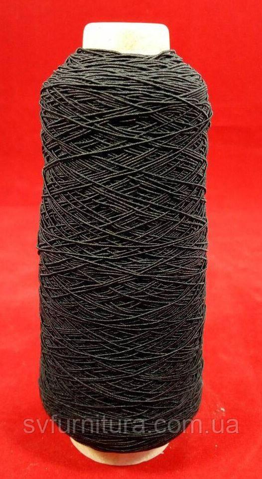 Резинка нитка № 37 черный Вес упак.: 0.5 кг