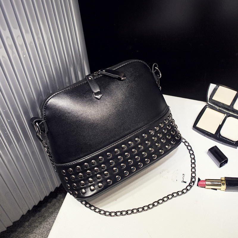 Женская сумочка мини черная через плече опт