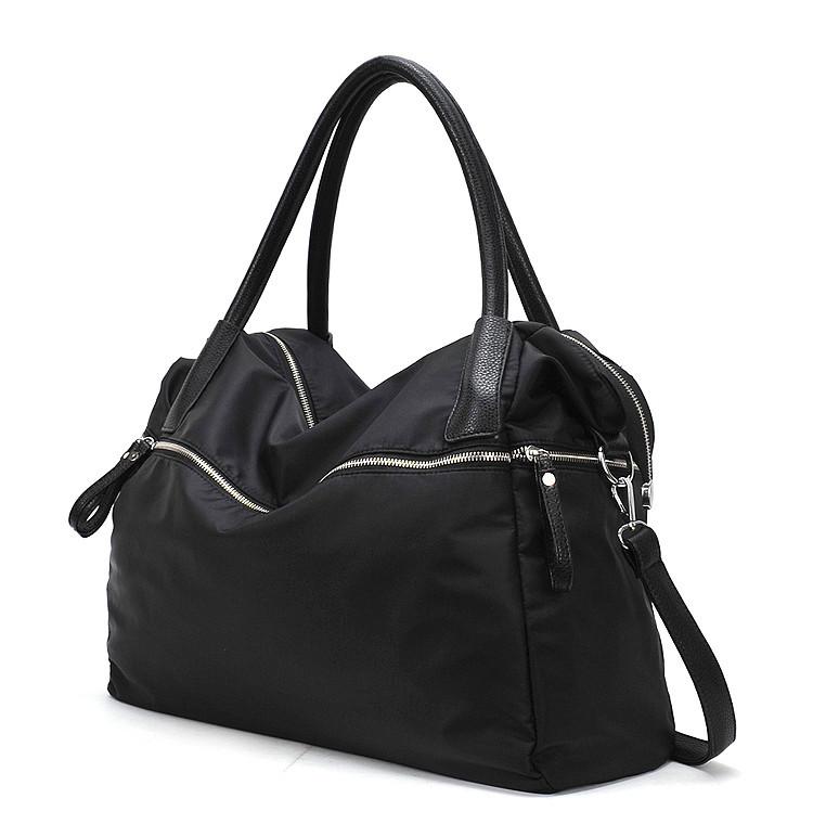 Женская сумка большая черная спортивная тканевая опт