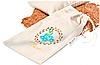 Подушка-грелка Organic с семенами льна 15х23см