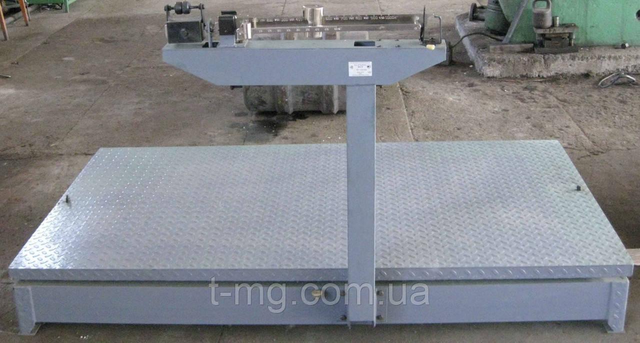 Весы механические товарные 500 кг ВТ-500Ш13