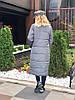 """Стеганое женское пальто на силиконе """"SLIM"""" с карманами (4 цвета), фото 6"""
