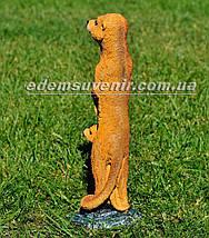Садовая фигура Суслик с малышом, фото 3