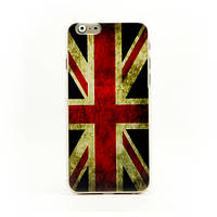 "Ретро чехол для iPhone 6 4.7"" Британский флаг ""Vintage UK National Flag"""