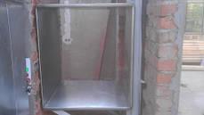 Подъёмник-лифт сервисный кухонный в кирпичной шахте под заказ. , фото 3