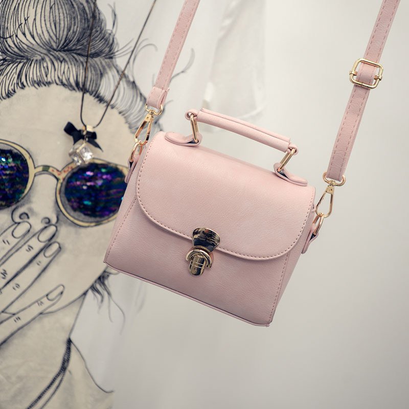 Женская сумочка клатч через плече розовая 1620 опт