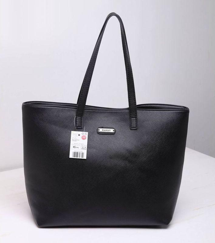 Женская сумка черная манго mango опт