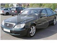 Боковое стекло задней двери Mercedes S-Class W220 '98-05 правое (Pilkington)
