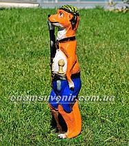 Садовая фигура Суслик с ружьем, фото 3