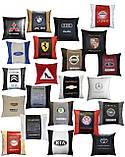 Подушка сувенирная в авто для влюбленных - Сердце, фото 9