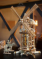 """Украинский деревянный конструктор-пазлы """"Башня-Мельница"""", фото 1"""
