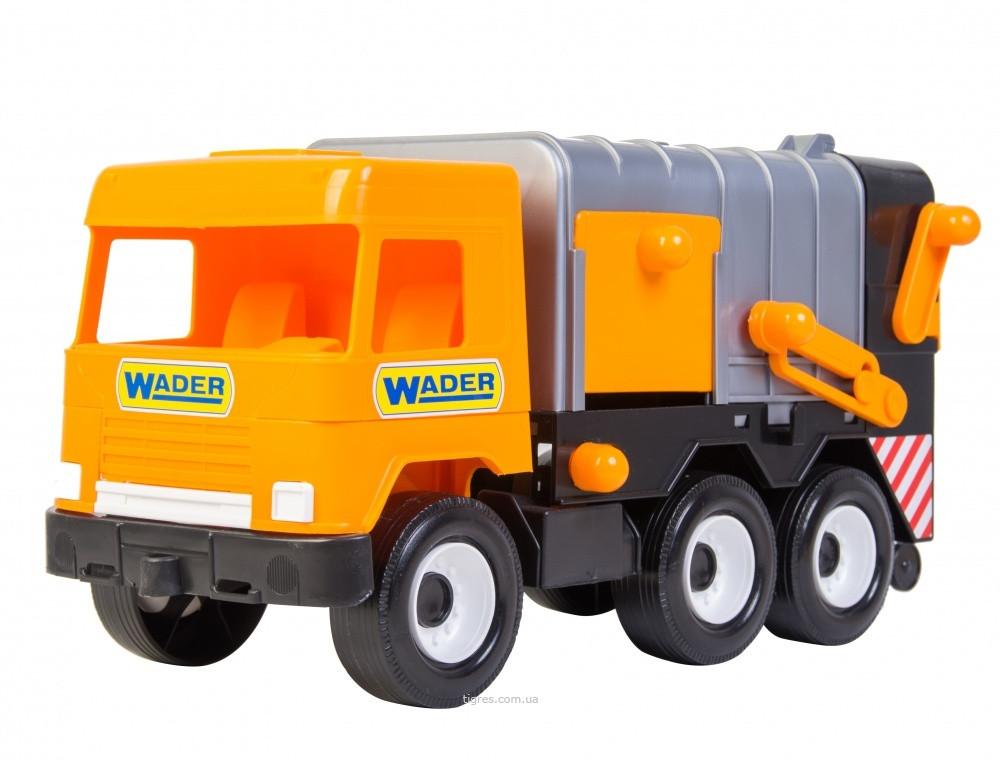 Машина Мусоровоз Middle truck Wader