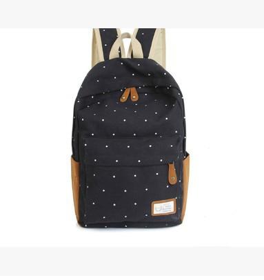 Детские рюкзаки черного цвета опт. 1010