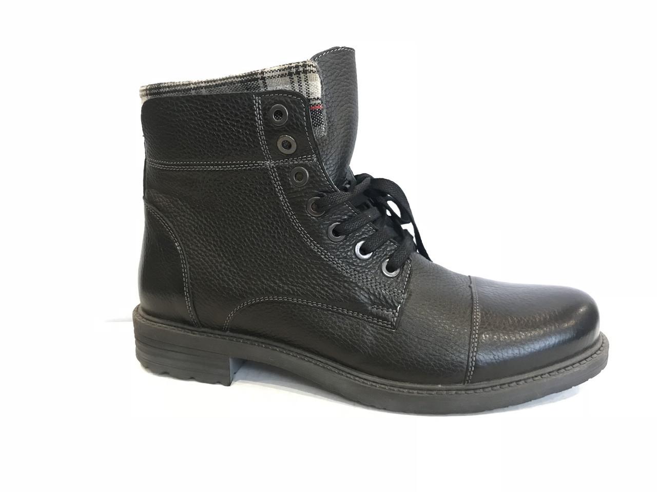 Зимние мужские ботинки натуральная кожа все размеры KADAR