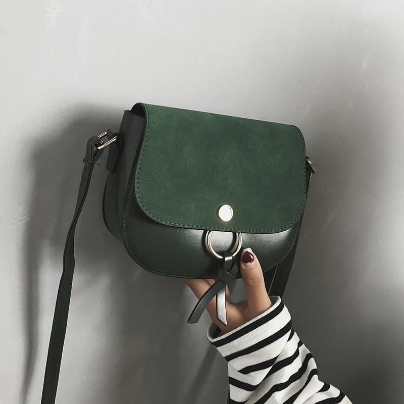 Женская сумочка мини зеленая опт