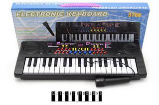 Пианино с микрофоном  (37 клавиш)