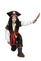 """Детский карнавальный костюм """"Пират Джек Воробей"""" для мальчика"""