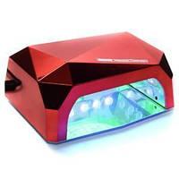 Лампа для маникюра Diamond 36W Красная LED+CCFL
