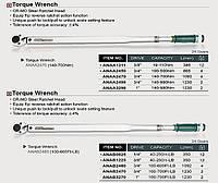 """Ключ динамометрический 3/4""""x1092mm(L)  140-700Nm ANAA2470"""