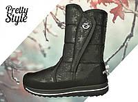 Дутики женские зимние ботиночки Pretty Style, фото 1