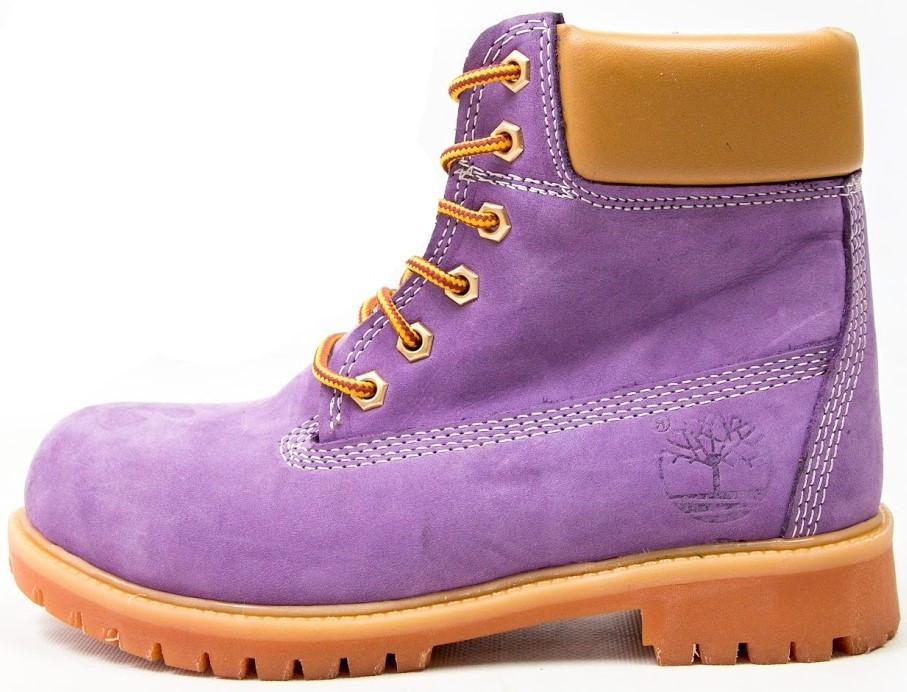 """Женские зимние ботинки Timberland """"Violet"""" (в стиле Тимберленд)"""