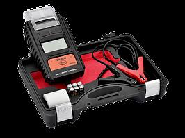 Тестер для аккумуляторов 6/12 В с принтером, Bahco, BBT80