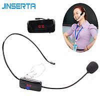 Мікрофон на голову бездротовий JINSERTA FM (87.5-108mhz)