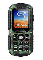Мобильный телефон Sigma mobile X-treme IT67 Dual Sim Black/Khaki