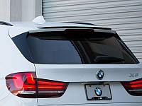 Спойлер верхній BMW X5 в кузові f15 2014+ р. в. в стилі M-performance